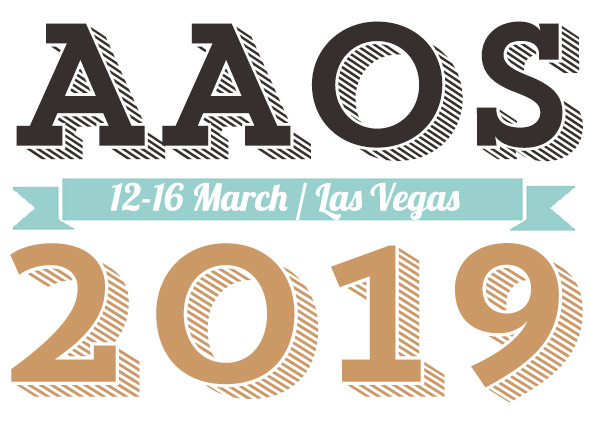 American Academy of Orthopedic Surgeons – AAOS 2019